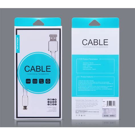 Nillkin Charger Cable Micro Usb For Smartphone Blue Diskon nillkin charger cable micro usb for smartphone blue