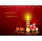 Christmas Happy New Year Card Merry Happ