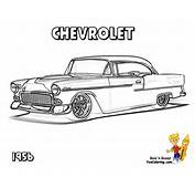 Muscle Car Coloring Pages  American Cars Free Classic