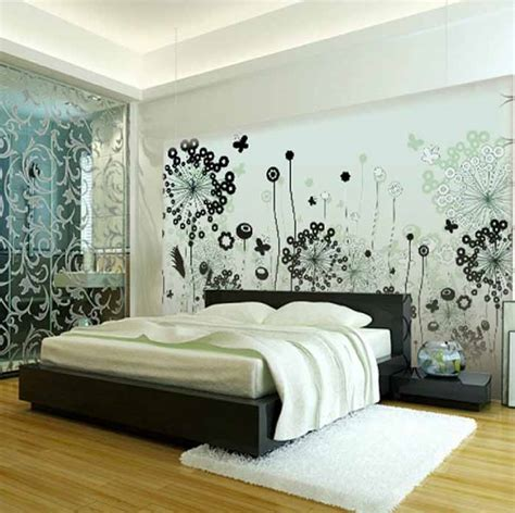 Bedroom Decoration Black And White Combination by Black And White Bedroom Interior Design Ideas