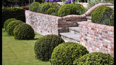 bricks garden pics brick garden wall