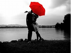 Red Umbrella Love