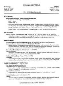 monster resume name