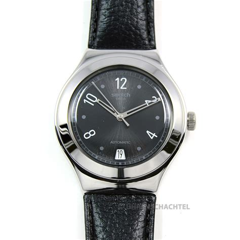 Swatch Automatic swatch uhr irony automatic black board yas405 neu ebay