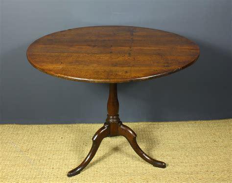 georgian oak tilt bird cage table antiques atlas