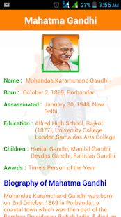 biography of mahatma gandhi in marathi language indian freedom fighter android apps on google play