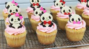 how to make panda cupcakes youtube