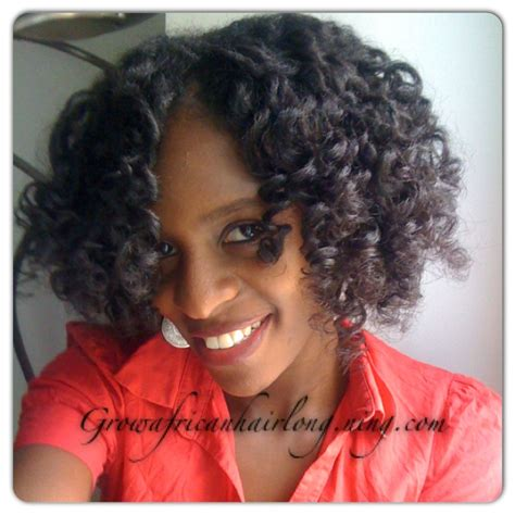 my first feminine hair perm first perm rod set 11 weeks post texlax grow african