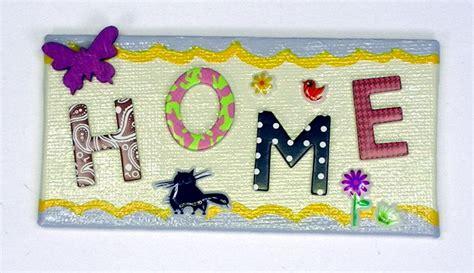 Buchstaben Aufkleber Basteln by Magnete Basteln Mit Buchstaben Aufkleber Mein Herz Sagt