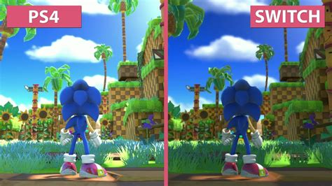 Kaset Ps4 Sonic Forces sonic forces ps4 vs switch frame rate graphics comparison