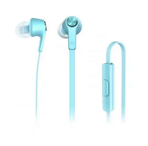 Xiaomi Mi In Ear Headphones Basic Colorfull Edition 100 Murah xiaomi mi in ear headphones basic colorful edition blue