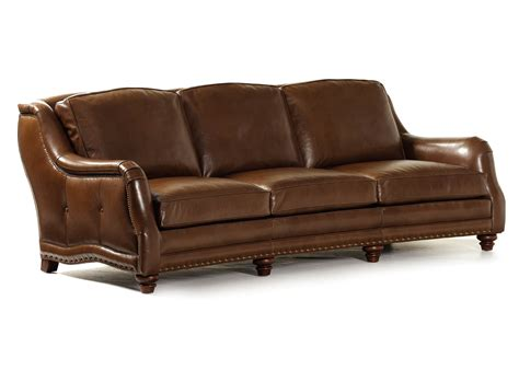hancock and leather sofa handcrafted furniture by hancock and