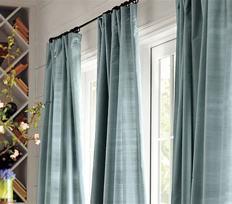 pottery barn how to hang drapes how to hang curtain rods pottery barn curtain