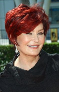 redken sharon osborn red hair color sharon osbourne being ugly made me a success it