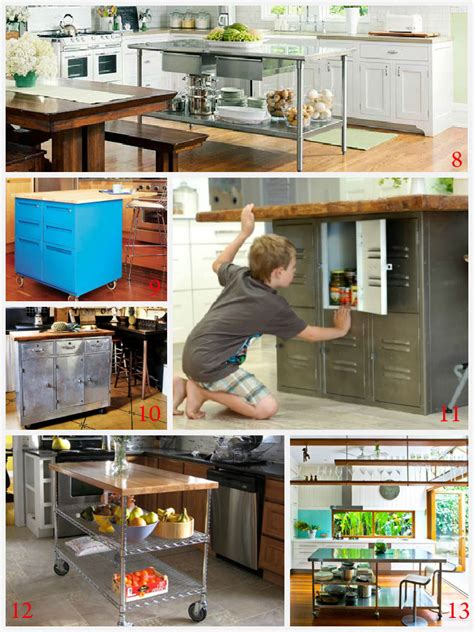 homemade kitchen ideas kitchen island ideas decorating and diy projects