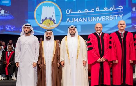 crown prince  fujairah attends graduation ceremony   students  year  giving batch