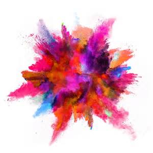 color powder explosion the psychology of color hemmis