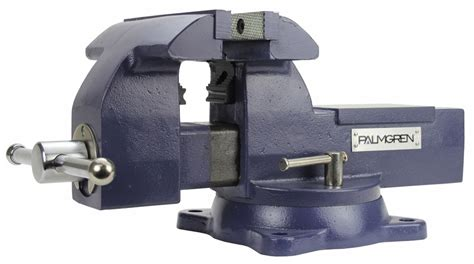 palmgren bench vise palmgren 9629745 combination bench and pipe vise 5
