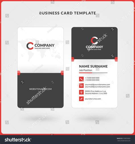 elegant stock of double sided business cards business