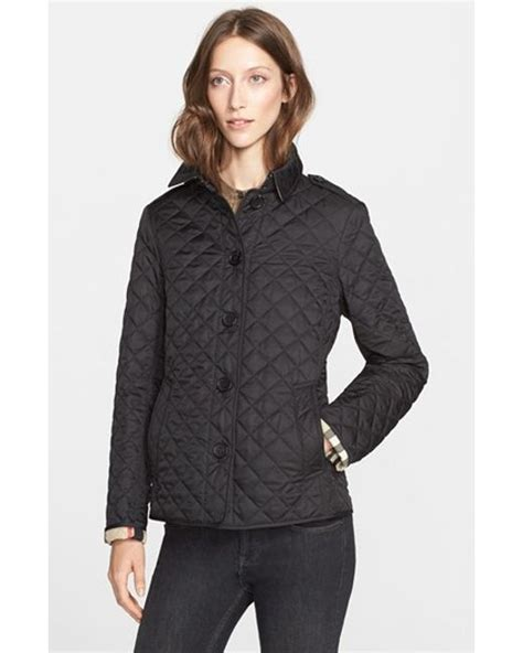 Burberry Brit Jacket Quilted by Burberry Brit Black Ashurst Quilted Jacket Lyst