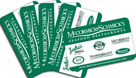 Multiple Gift Cards - now closed 15 days of holiday giveaways 50 mccormick schmick s gift card