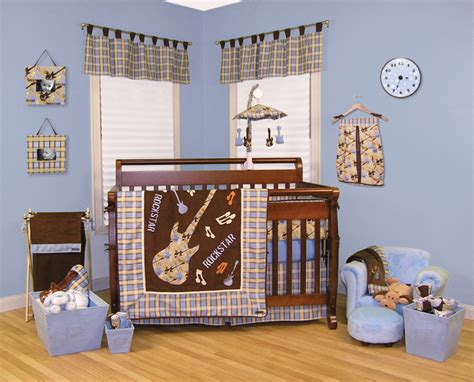 Rockstar Crib Bedding Trend Lab Rockstar 3 Crib Bedding Set