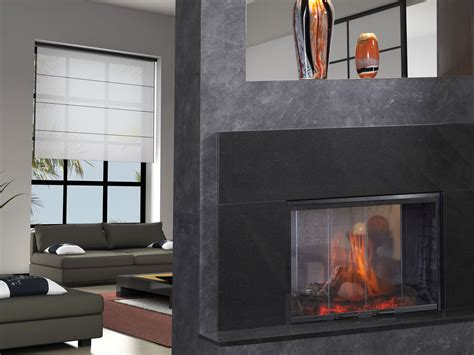 See Through Ventless Gas Fireplace by Simplifyr See Thru