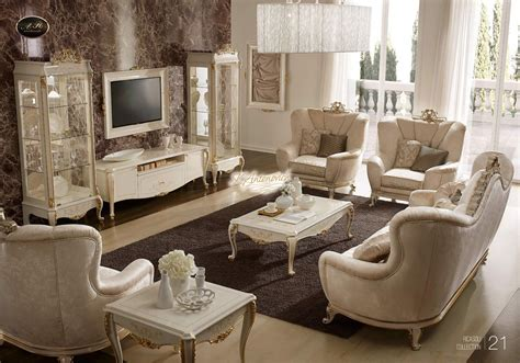 Living Room Furniture In The Italian Style Italian Style Furniture Living Room