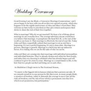 wedding vows template wedding ceremony program template 31 word pdf psd