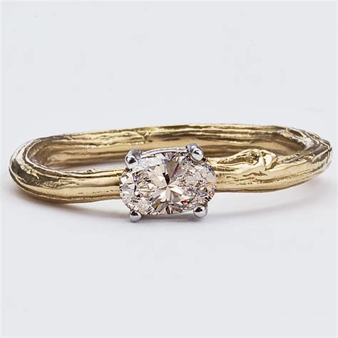 Handmade Engagement Rings Nyc - items similar to chagne engagement ring