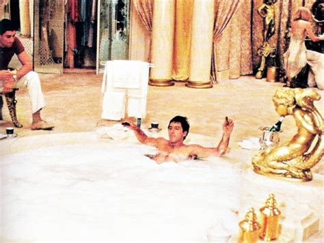 scarface bathtub scene film noir scarface 1983 noirwhale