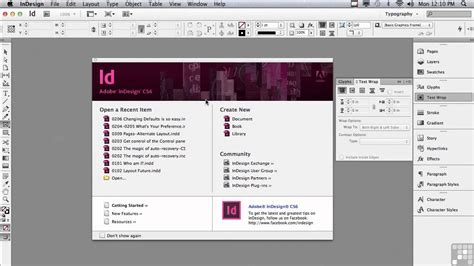 tutorial de indesign cs6 adobe indesign cs6 tutorials changing defaults in adobe