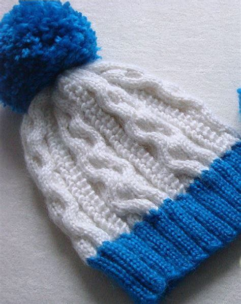 Tempat Pop Corn Stitch Pop Corn popcorn stitch cable hat allfreeknitting