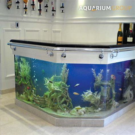 fish tank bar top angled bar aquarium aquariumgroup uk