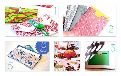 Enjoy These 12 Gift Cards On Us - make it handmade 5 simple ways to dress up a gift card