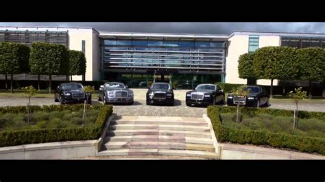 rolls royce factory tour aerial footage from goodwood the home of rolls royce