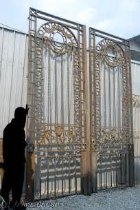 French Doors New Orleans - monumental 19thc french wrought iron mansion gates for sale antiques com classifieds