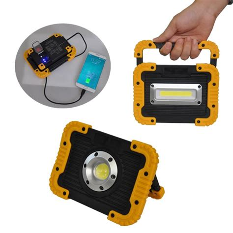 portable rechargeable led work light 10w cob led portable work light rechargeable opto light