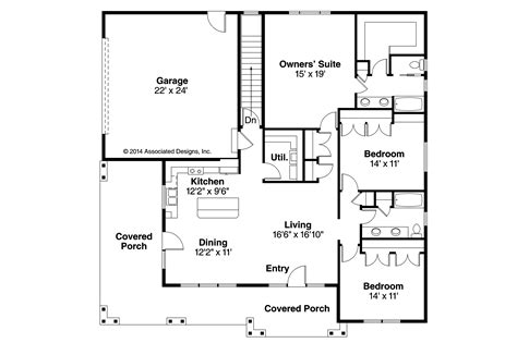 small one story house plans small prairie style house plans small one story house