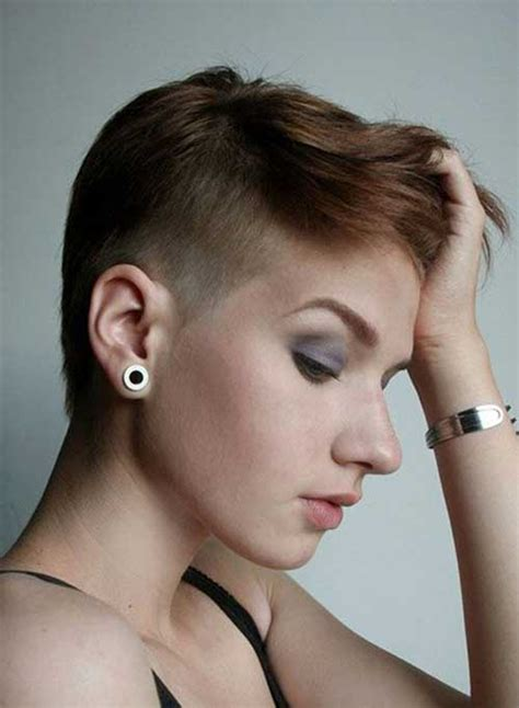 pixie cut shaved sides 15 pixie cuts with shaved side pixie cut 2015