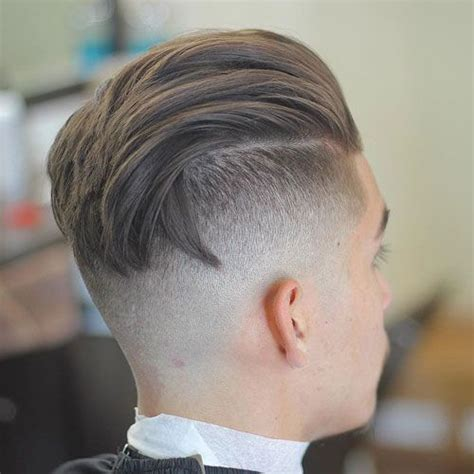 back of hair in a point 27 undercut hairstyles for men bald fade undercut
