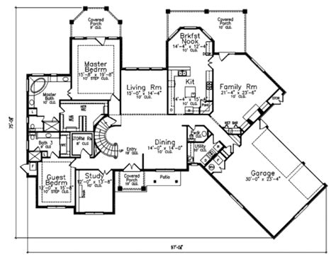 european style floor plans european style house plan 4 beds 4 5 baths 3950 sq ft