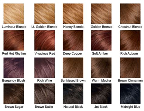 hair color chart east west salon and spa roots touch up full color
