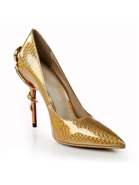 gold colored high heels gold color patent leather pointed toe high heels wedding