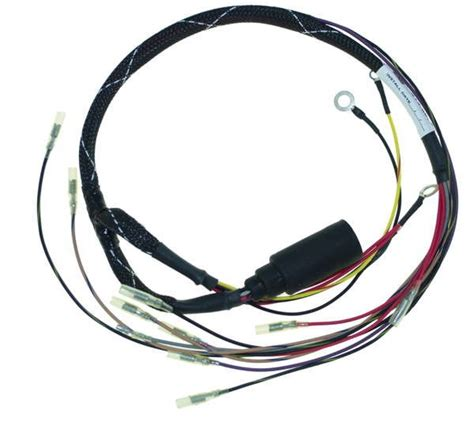 wire harness for mercury sport jet 90 120 hp 3 4 cyl 84 826075a 2 ebay
