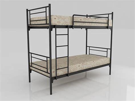 Tempat Tidur Besi Tingkat 3 jual tempat tidur susun besi harga murah bekasi oleh pt