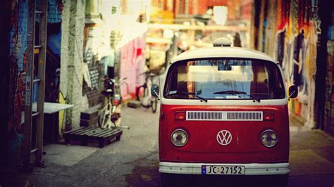 volkswagen van background red vintage volkswagen vintage cars volkswagen van