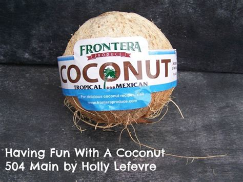 504 main by holly lefevre 10 fun and creative tips for 504 main by holly lefevre having fun with a coconut