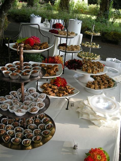 Table Setups For Wedding Receptions Buffets Plans Dessert Buffet Catering