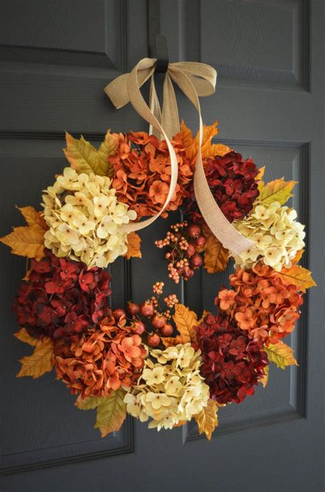 Diy Fall Wreaths Design Ideas 25 Best Ideas About Fall Wreaths On Pinterest Wreaths Pumpkin Burlap Wreath Diy And